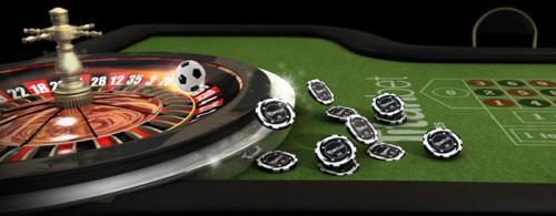 Roulette Tisch im Online Casino